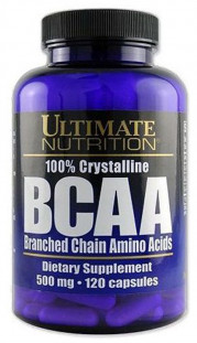 Ultimate Nutrition BCAA 500 мг (120 кап)